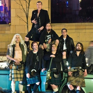 Concert of The Real McKenzies 15 March 2020 in Red Deer